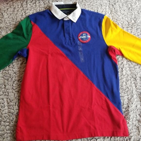 6c5b03ff4a1 Tommy Hilfiger Shirts | Long Sleeve Polo | Poshmark